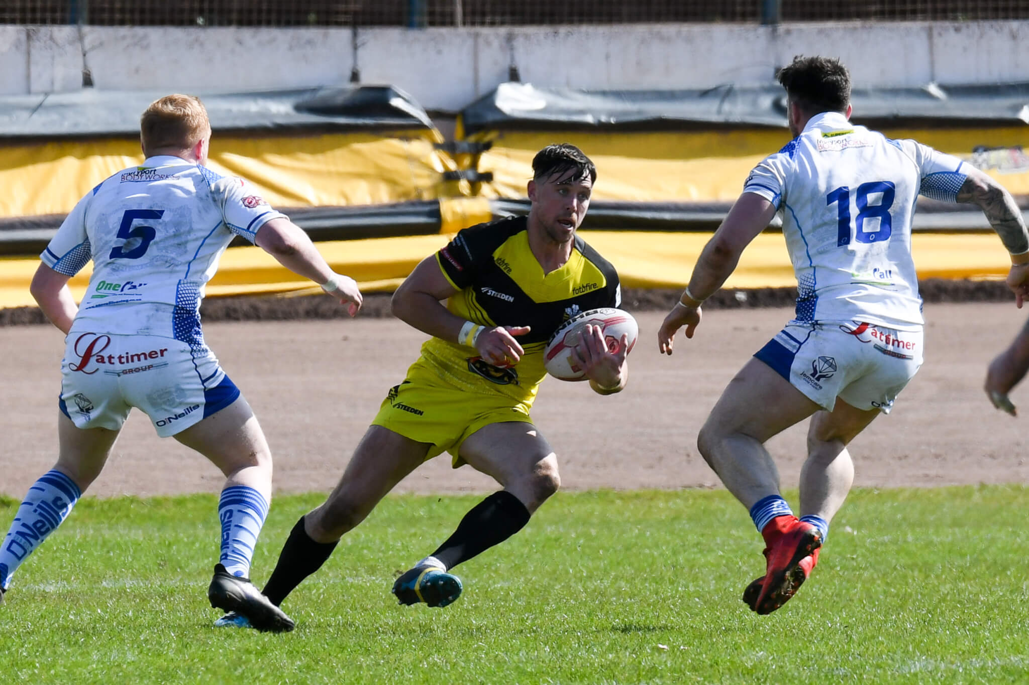 Flashback: Crusaders' clashes with Workington Town