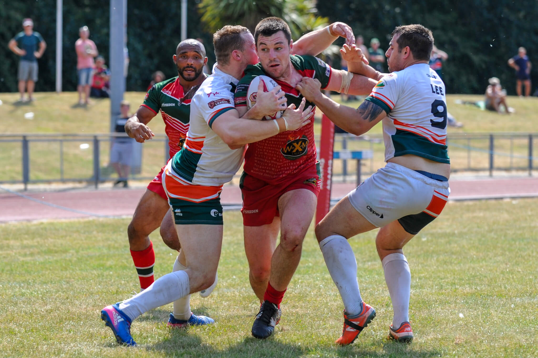 Crusaders' 19-man squad for Hunslet match