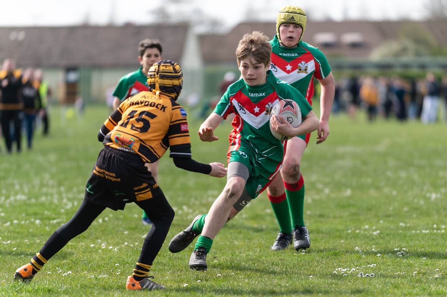 Report: Haydock Warriors U13s 10-54 North Wales Crusaders U13s