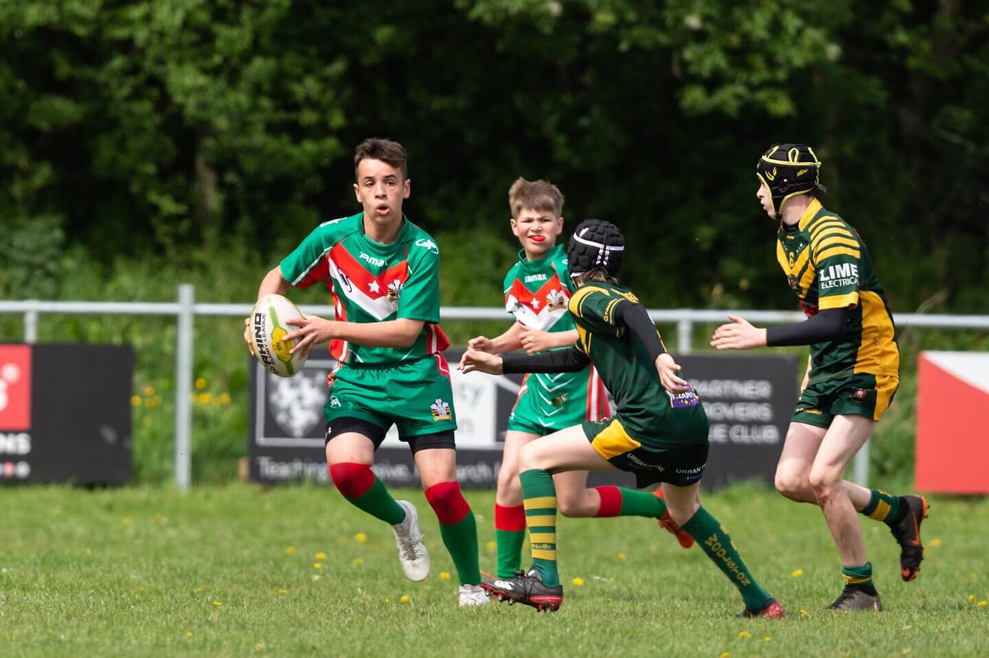 Report: Woolston Rovers U13s 14-54 North Wales Crusaders U13s