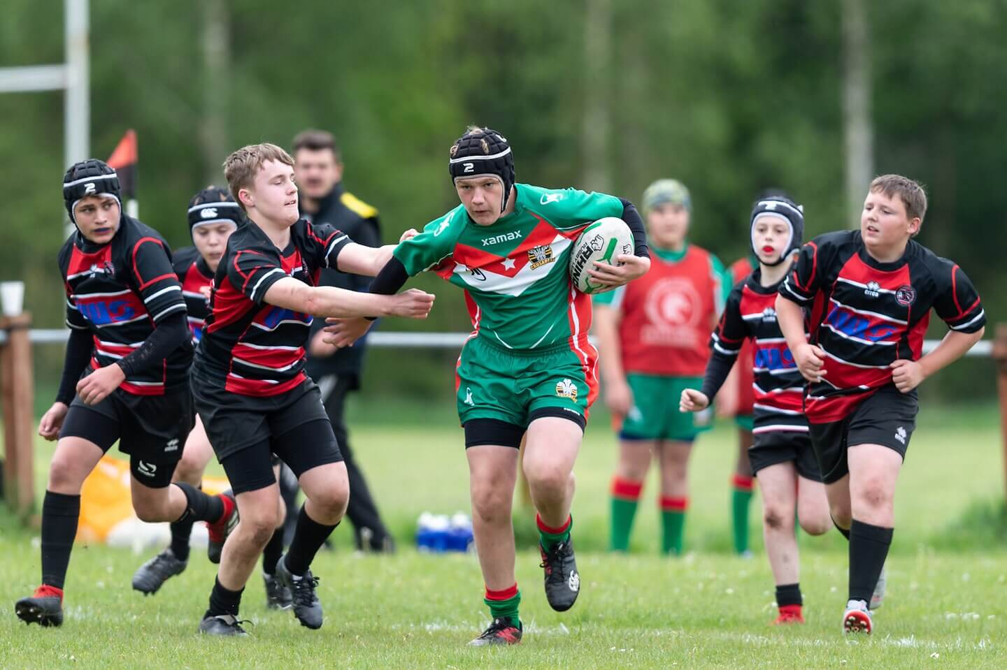 Leyland Warriors U13s 0-62 North Wales Crusaders U13s