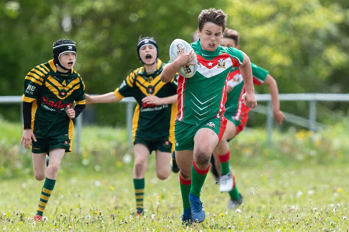 Report: North Wales Crusaders U13s 42-8 Woolston Rovers U13s