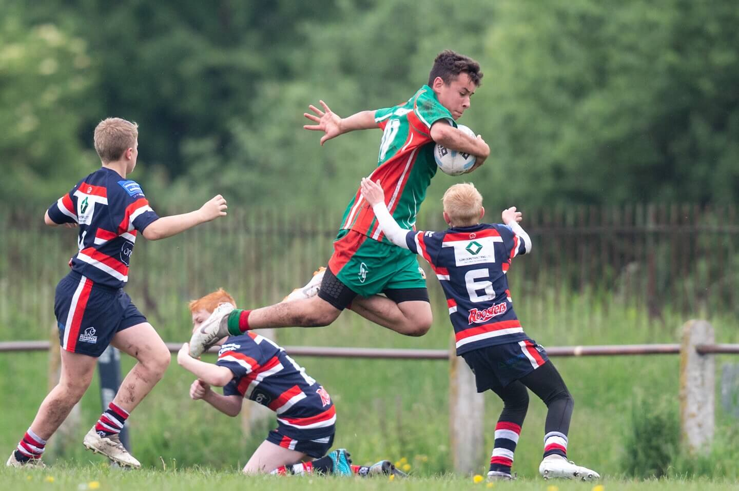 Report: Salford City Roosters U13s 28-16 North Wales Crusaders U13s