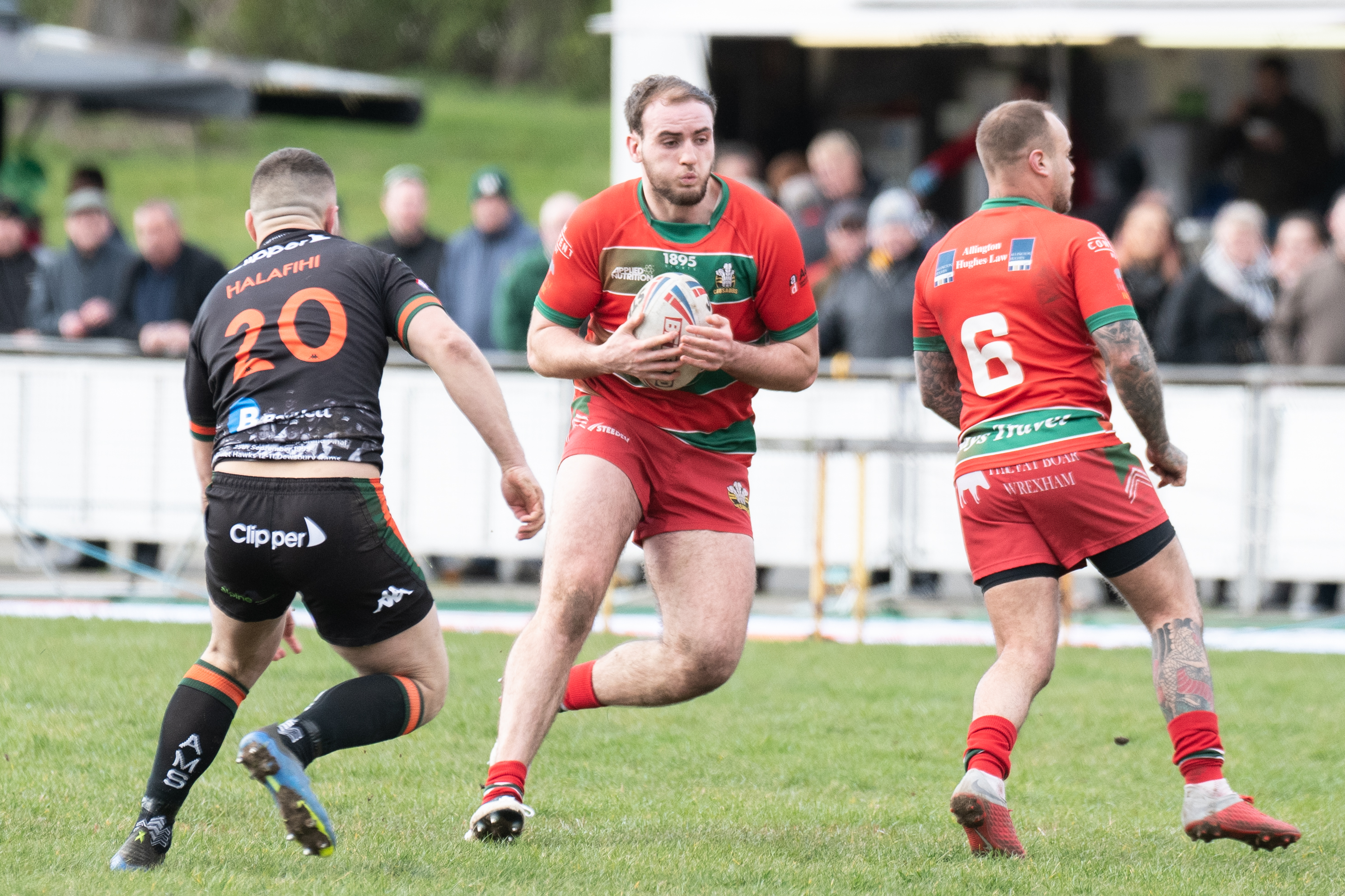 Crusaders' 19-man squad for Hunslet trip