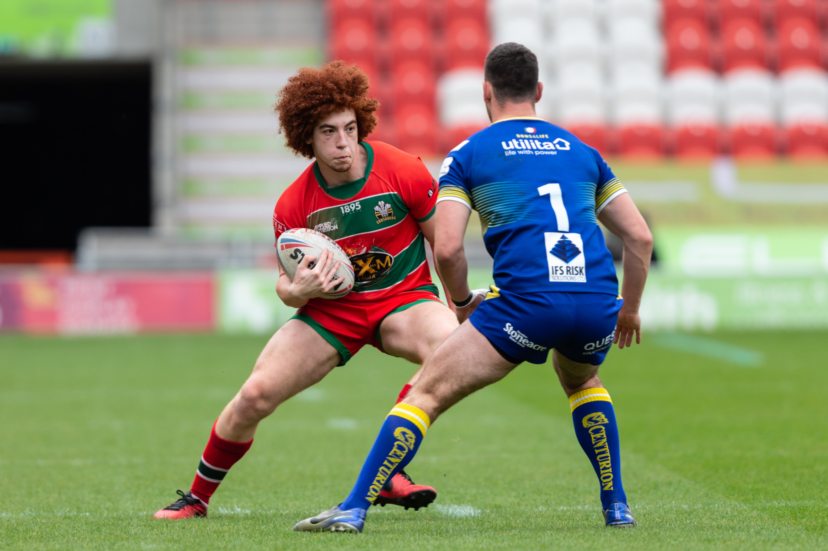 New deal at North Wales Crusaders for Dante Morley-Samuels
