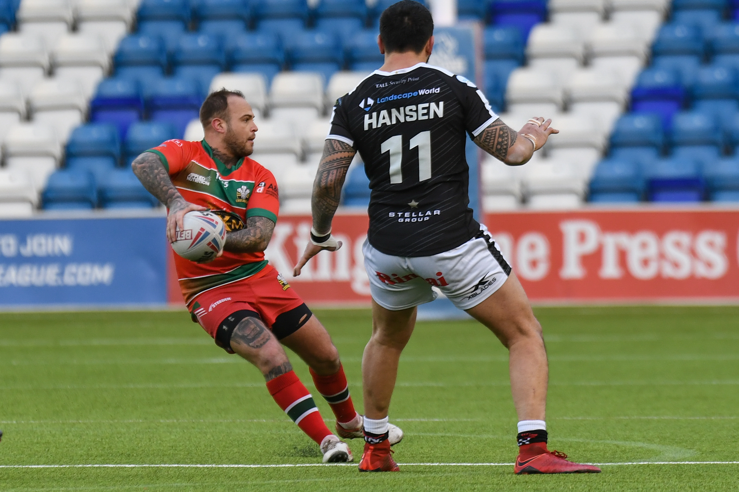Crusaders squad for trip to Widnes