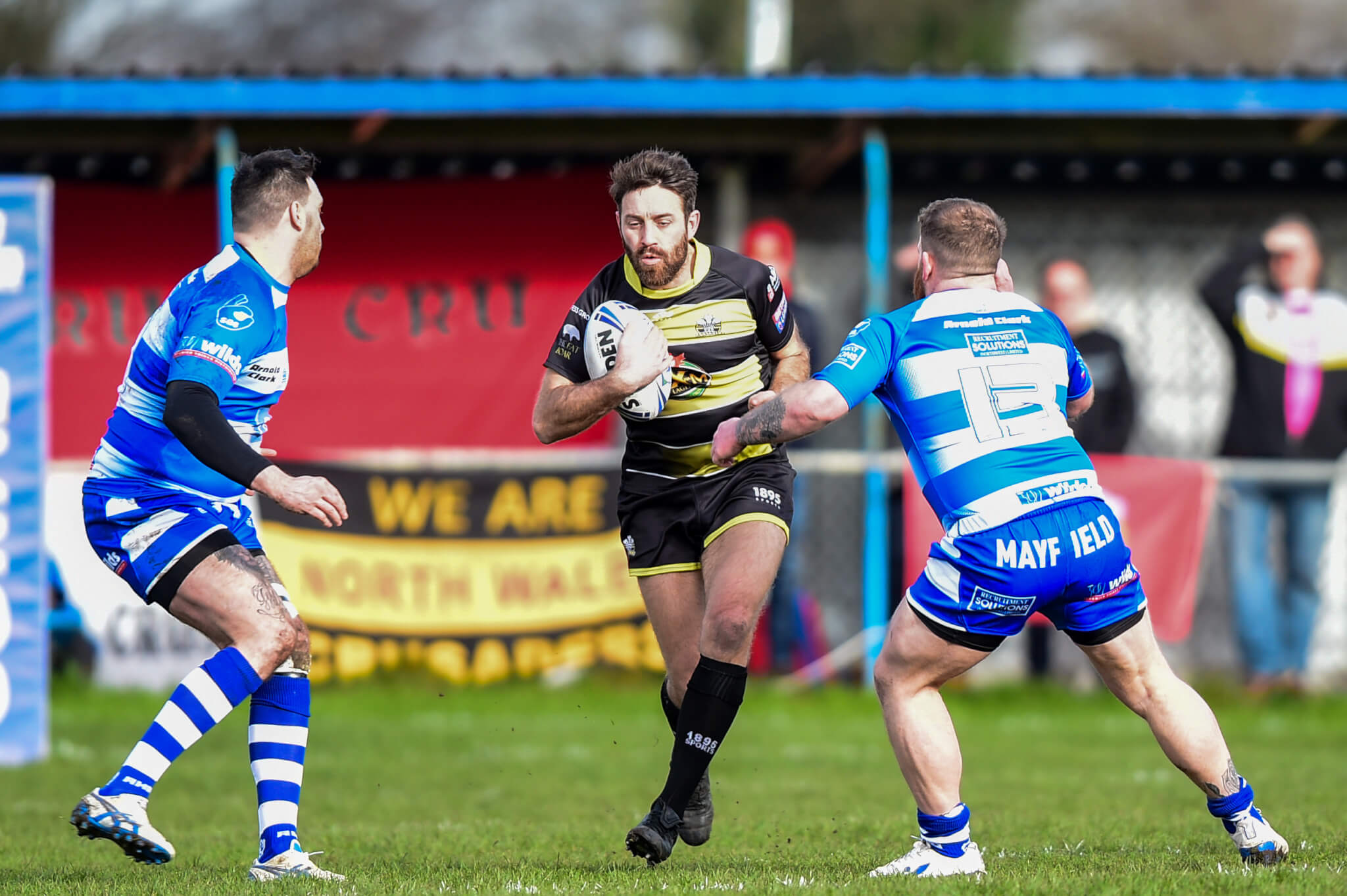 New deal at Crusaders for Tommy Johnson