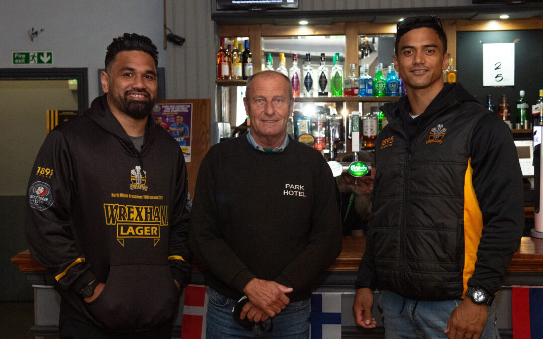 Engaging with new sponsors and fans in Colwyn Bay